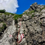 Klettern und Steige